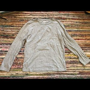 Gap everyday grey long sleeve top